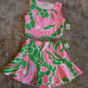 Brand new Lilly Pulitzer Neri Two piece set
